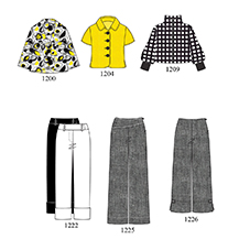 Example of Acceptable Fashion Line Sheet